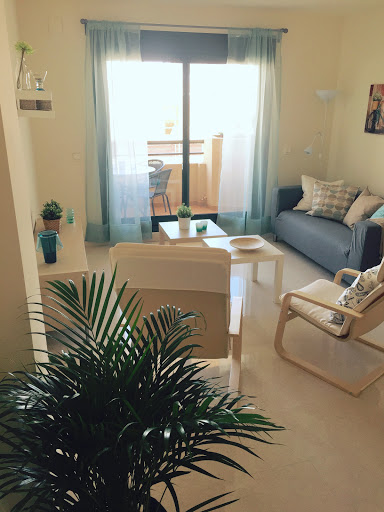 Woonkamer vakantie appartement TOR01 in Nerja