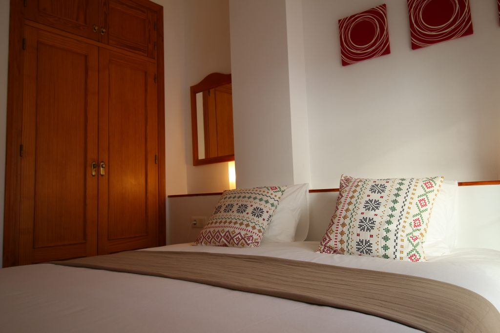 Master bedroom vakantie appartement TOR06 in Nerja