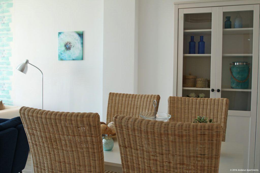 Eethoek vakantie appartement MDN04 in Nerja