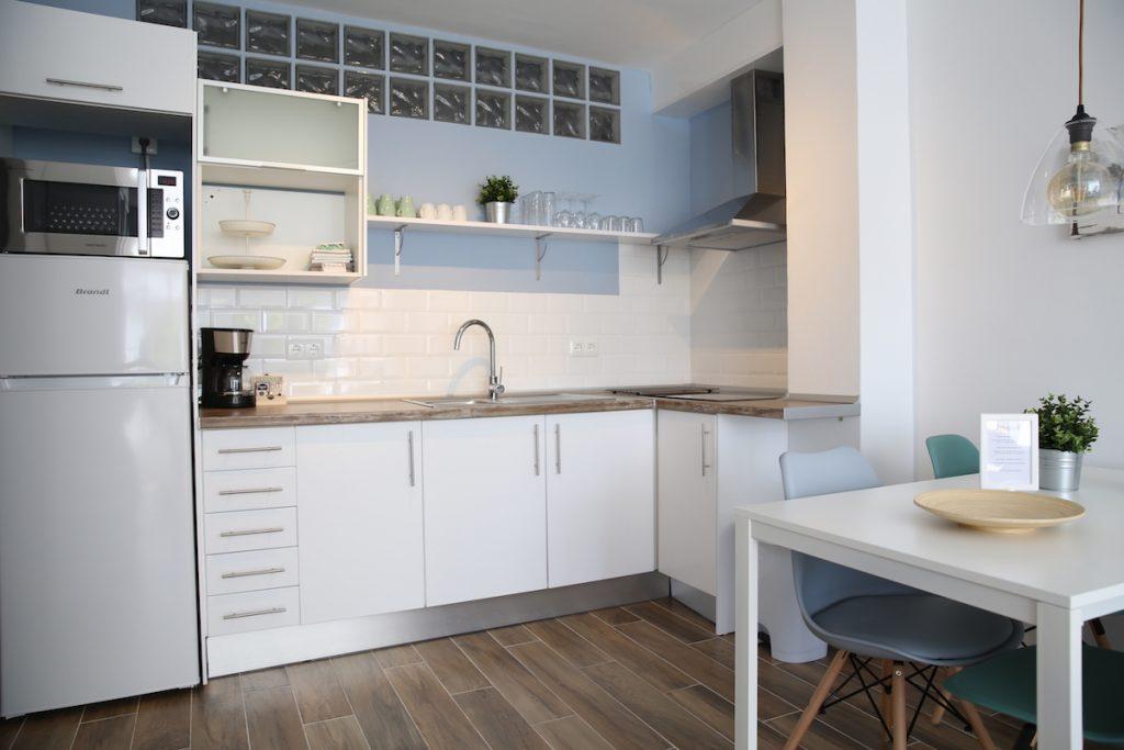 Keuken vakantie appartement TOR10 in Nerja